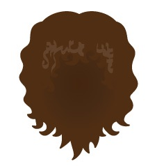 Image showing avatar hair with options: curly, shoulder, blow_out