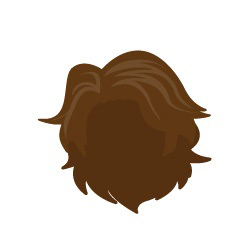 Image showing avatar hair with options: wavy, long, blow_out